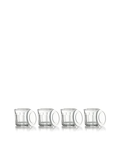 Arc International Set of 4 Working Glass 14-Oz. Coolers with Lids