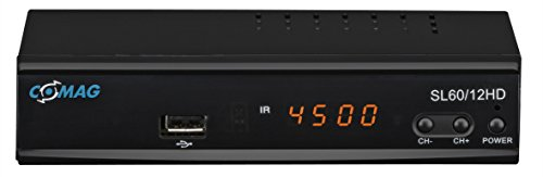 Comag SL60/12 HD HDTV Satelliten-Receiver (PVR ready), schwarz
