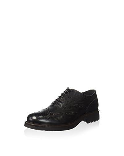 ZZ_Pollini Zapatos Oxford Negro