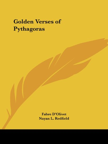 Golden Verses of Pythagoras (English and French Edition)