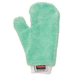 Rubbermaid Q652 Dusting Glove, Commercial-Grade Rubbermaid Microfiber Dusting Mitt Glove -- Gets Tough Work Done Way, Way Faster