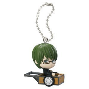 "Bandai The Basketball Which Kuroko Plays *Off Shot Edition* Strap Figure ~1.5"" - Midorima Shintaro - 1"