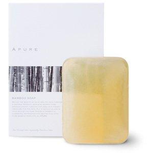 アピュア石鹸 ソープ 100g APURE SOAP 全身に使える竹エッセンス 配合、お肌を傷めない弱酸性の超低刺激石けん