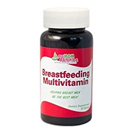nuMOM nutrition Breastfeeding Multivitamin, 30 Tablets