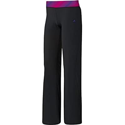 Adidas Twist Slim ST Womens Pants in Black/BlaPink/BlaPur sz:S