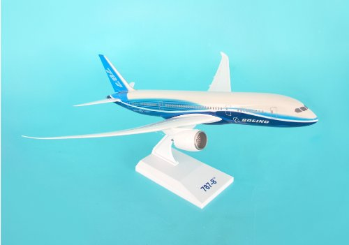 Daron Skymarks Boeing House 787-8 with Spinning Engines, 1/200-Scale (Boeing 787 Model compare prices)