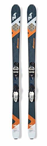 Nordica sci All Mountain, blu/arancione, 177