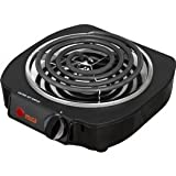 IMUSA GAU-80305 Single Electric Burner, 1100 Watts.