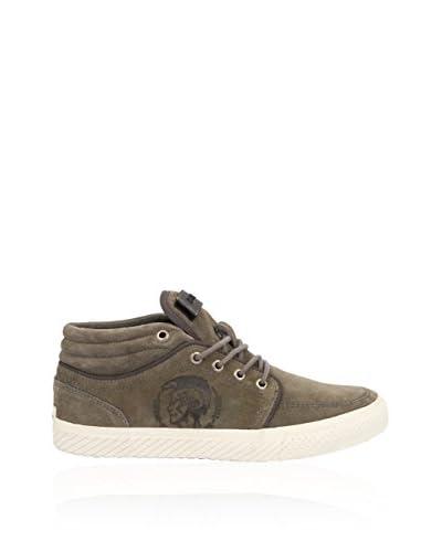 DIESEL Sneaker Alta [Grigio]