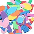 Foam Geometric Shapes 200 Pieces