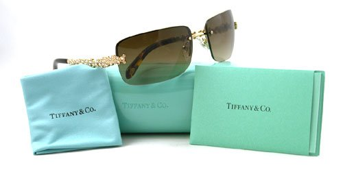 TIFFANY & CO SUNGLASSES TF 3013B 6002/3B TORTOISE