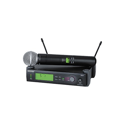 Shure Slx24/Sm58 Handheld Wireless System, G5