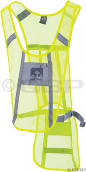 Nathan Nathan Cyclist Reflective Safety Vest: Neon Yellow