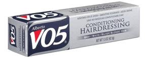 Alberto VO5 Conditioning Hairdressing For Gray White Silver Blonde Hair 45 ml