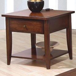 Cheap Whitehall End Table w/ Shelf & Drawer by Coaster (B0051PE4YW)