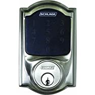 Schlage Lock BE469NXVCAM619 Touchscreen Electronic Deadbolt