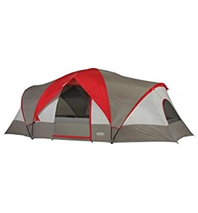 Wenzel Great Basin 18&#39x10' 3 Room 10 Person Tent by Wenzel