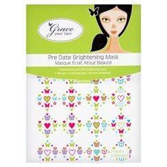Grace Your Face - Pre Date Brightening Masks (2 masks per pack)