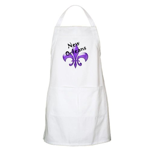 Cafepress New Orleans BBQ Apron - Standard