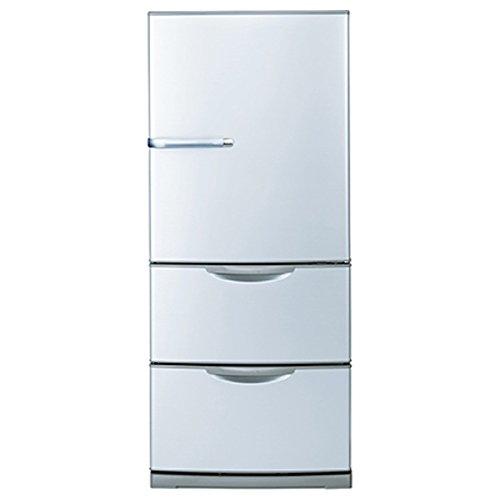 アクア 272L 3ドア冷蔵庫(ブライトシルバー)AQUA AQR-271D-S