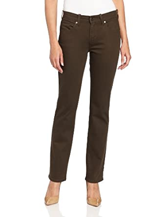 Levi's Women's 505 Styled Straight Leg Pant, Fern, 4 Medium