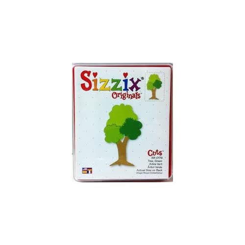 Amazon.com: Sizzix Green Tree Red Die 38-0176 by Provo Craft