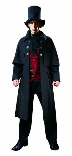 HGM Costume Men's Plus-Size Vampire Lord