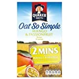 Quaker Oats Oat So Simple Mango & Passion Fruit Porridge 10 X 33.4G