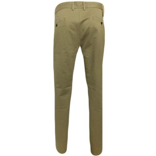 Da uomo Dockers Levi Strauss Chino Pantaloni D1Levi Pantaloni Slim Fit Jean nuovo Dark Beige W38