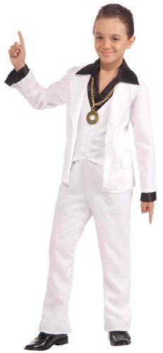 70s Disco Fever Kids Costume - Child Small