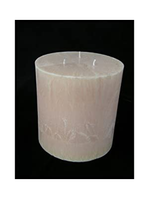 Multi-wick Palm Wax Candle 14x15cm Champagne 3 Wicks And 1 Pack Scented Wax Free by Candelita