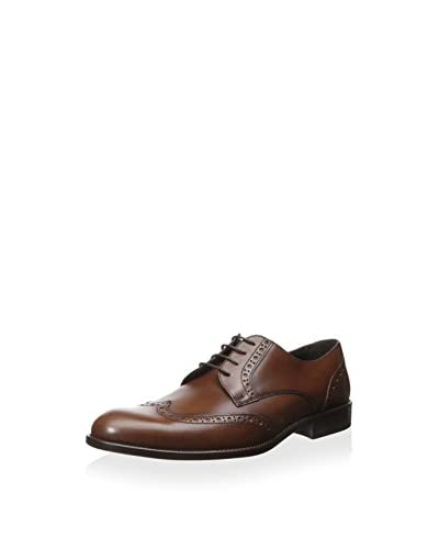 A. Testoni Men's Wingtip Dress Oxford with Brogue