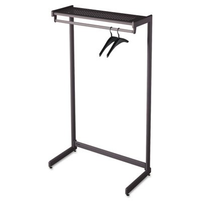 Quartet Single Side 1-Shelf Garment Rack, 48