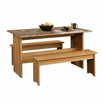 Small kitchen table and bench set - Small kitchen table and bench set ...