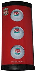 Liverpool Fc 3 Pack Golf Ball Gift Set by Liverpool FC