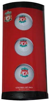 Liverpool Fc 3 Pack Golf Ball Gift Set