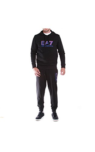 EA7 Emporio Armani 6XPV54 PJ05Z 1200 tuta nero
