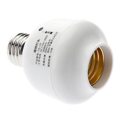 Ggb- E27 Wireless Remote Controlled Led Bulbs Socket Lamp Holder (110-240V)