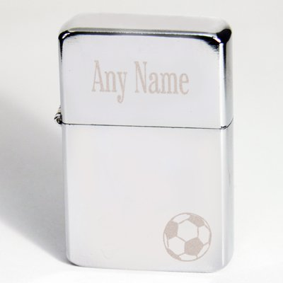 Personalised Lighter - Football motif