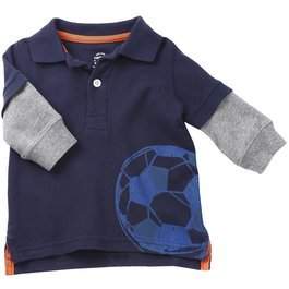 Baby's Store | Carter's Play Clothes Long Sleeve Soccer Tee – Navy