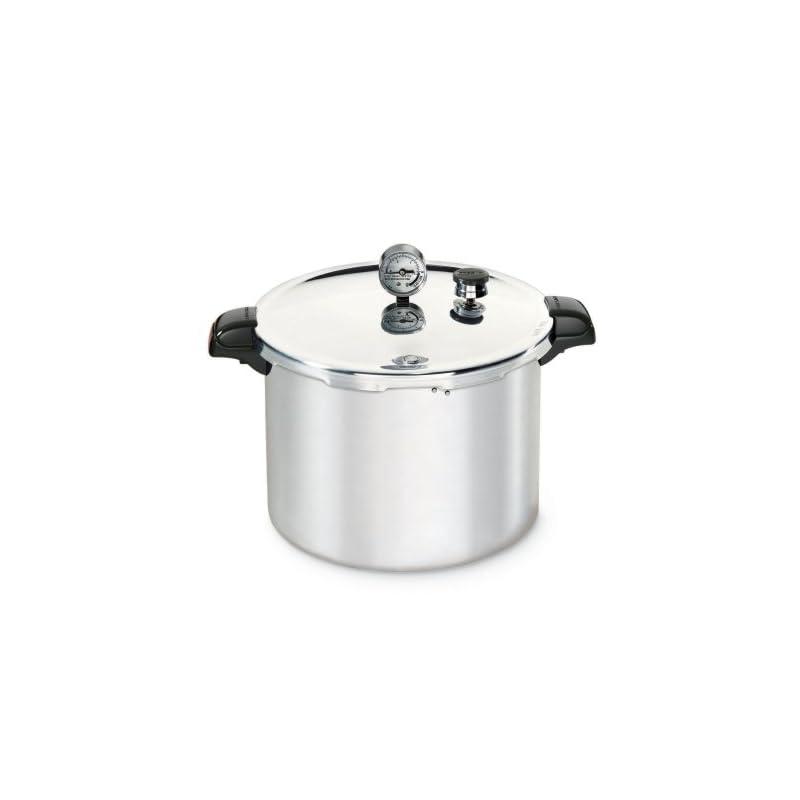 Presto 1755 16 Quart Aluminum Pressure Cooker Canner Free