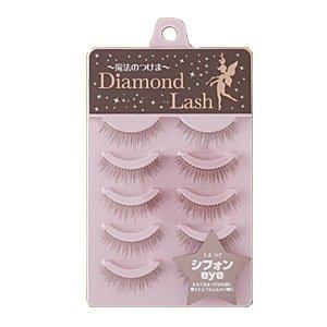 ダイヤモンドラッシュ Diamond Lash つけまつげ リッチブラウンシリーズ シフォンeye