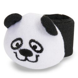 Panda Plush Slap Bracelets - Novelty Jewelry