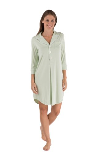Women'S Bamboo Sleep Shirt Valentine'S Day Gift For Women Girlfriend Wife Mom Wb0475-Scr-M front-278703