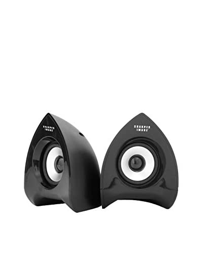 Sharper Image Computer Speakers, Black