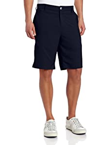 Adidas Golf Climalite 3-Stripes Tech Short, Navy, 34-Inch