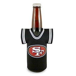 NFL Football Team Jersey Bottle Holder - San Francisco 49ers (49ers Beer Bottle Cooler compare prices)