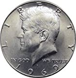 1969-S - 40% SILVER -- GEM CLAD PROOF - KENNEDY HALF DOLLAR