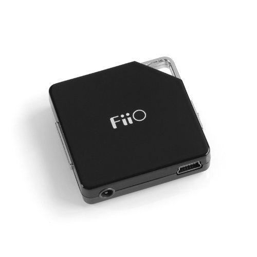 FiiO E6 Portable Headphone Amplifier - Black
