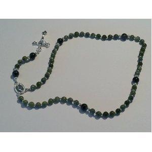 Irish Connemara Marble Rosary 13